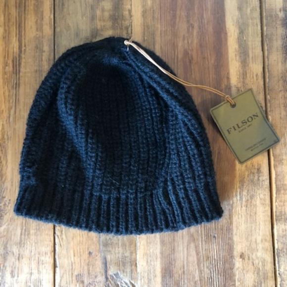 6079970f59b Filson Bison Wool Knit Beanie